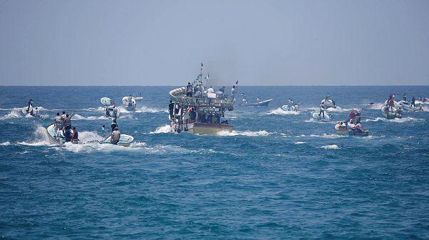 Israels Marine fängt Boot mit Palästinensern ab
