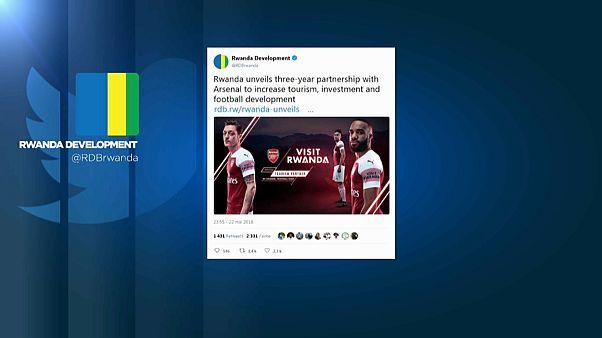 Ruanda sponsert den FC Arsenal