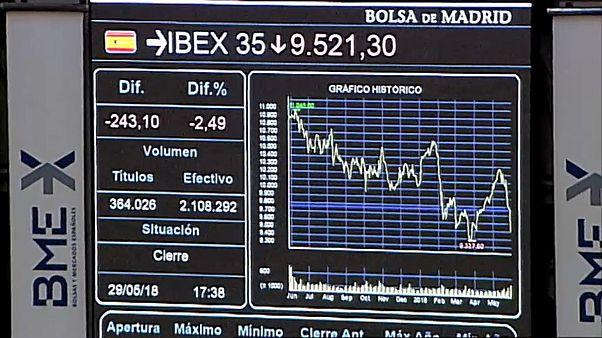 La incertidumbre en Italia arrastra al Ibex-35