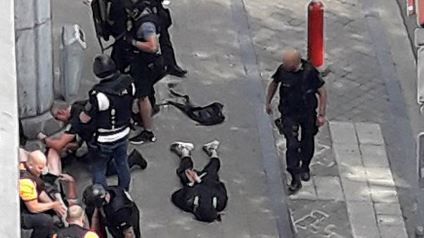 O ataque de Liège em fotografias