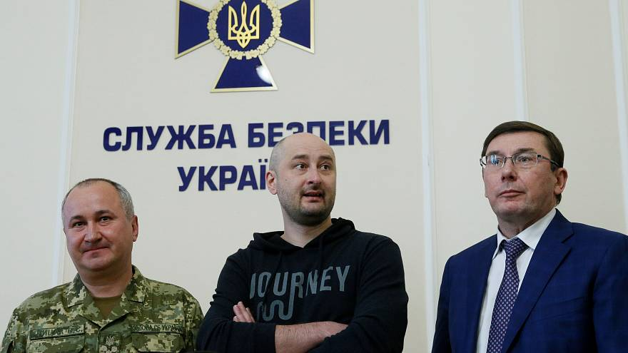 Russian journalist 'death' was to foil assassination plot