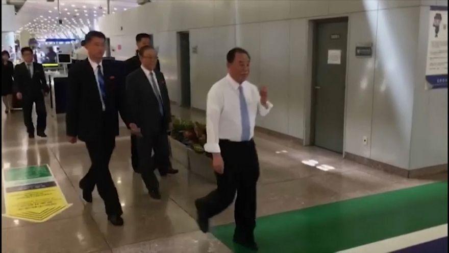 وصول أكبر مبعوث لكوريا الشمالية إلى الولايات المتحدة منذ عام 2000.