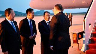 Rencontre du 9 mai entre Kim Yong Chol et Mike Pompeo à Pyongyang