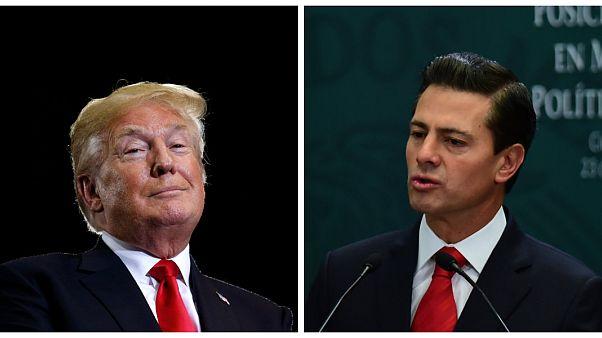 حرب كلامية بين الولايات المتحدة والمكسيك بسبب تكاليف بناء الجدار الحدودي