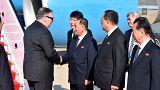 EUA recebem general norte-coreano