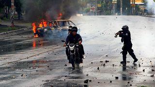 'Disparar a matar': la estrategia de represión en Nicaragua