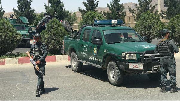 Car bomb and gun battle near interior ministry in Kabul