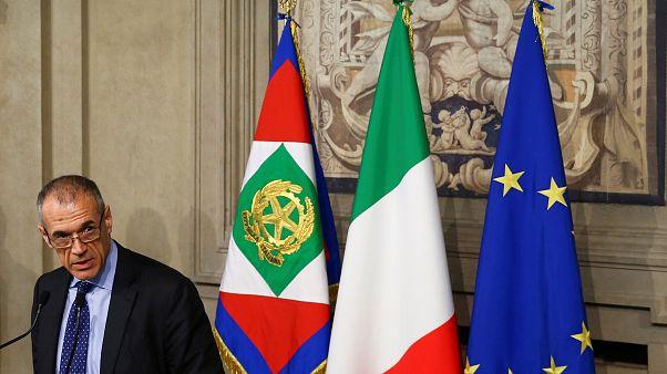 Carlo Cotarelli voltou a reunir-se com o Presidente no Palácio do Quirinale