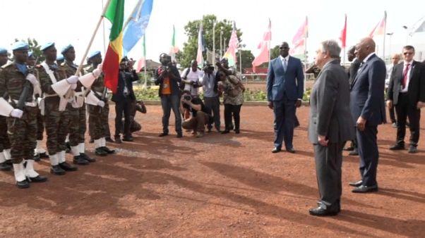 Mali : la journée des casques bleus