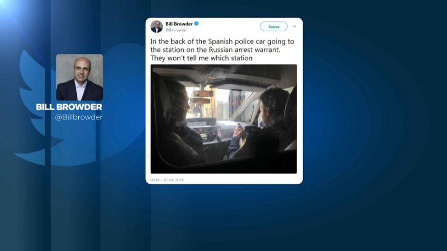 Putin'in düşmanı Browder gözaltına alındıktan sonra serbest bırakıldı