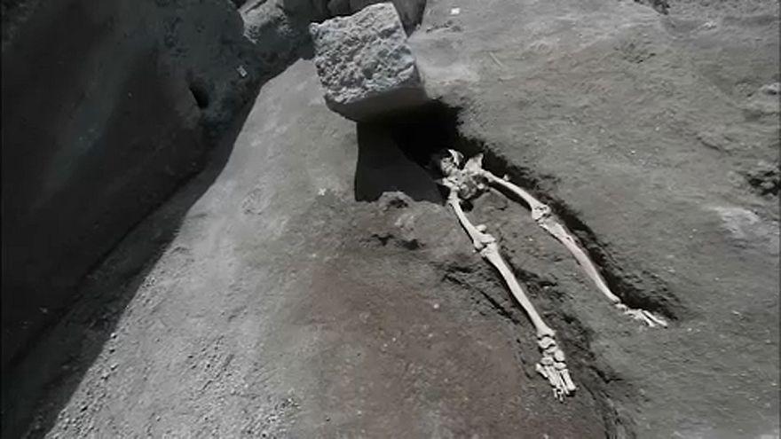 A pompeji, akit nem a láva ölt meg
