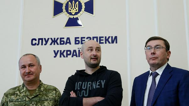Murdered journalist Arkady Babchenko
