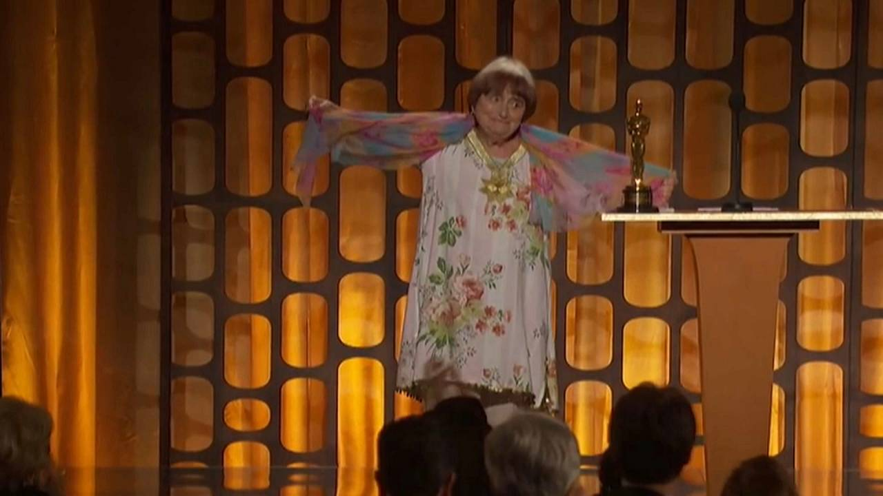 Varda received an honourary Oscar