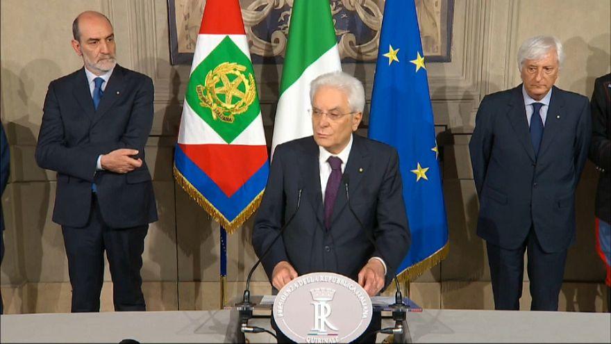 İtalya'da siyasi kriz derinleşiyor ibre erken seçime dönüyor