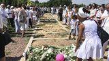 بلژیک؛ صدها تن در مراسم خاکسپاری مودا دختر دوساله کرد شرکت کردند