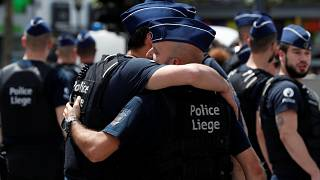 Emlékezés a Liege-ben megölt rendőrnőkre