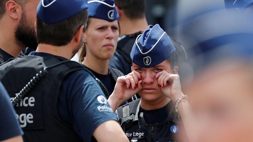 Lüttich trauert um die Anschlagsopfer