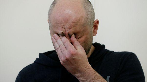 Er lebt! Journalist Arkadij Babtschenko auf einer Pressekonferenz in Kiew