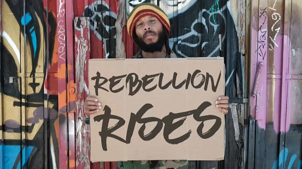 Ziggy Marley's latest album is titled Rebellion Rises