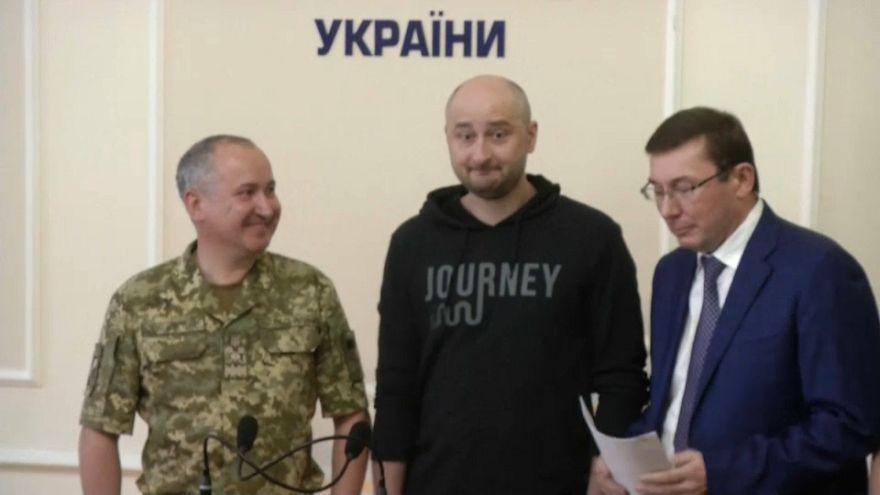 Russian journalist Babchenko alive and well