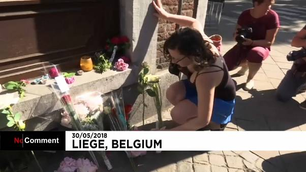 Hommage aux victimes de Liège