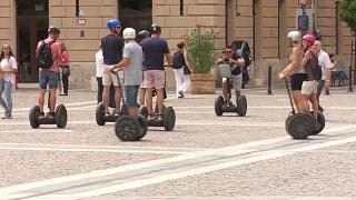 Segway-Verbot in Budapest