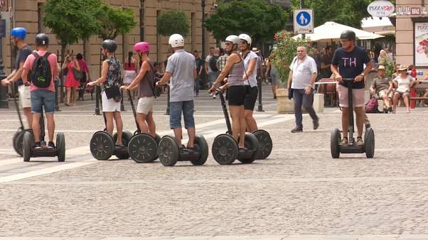 Budapest : les visites en gyropode, c'est fini