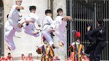 Искусство тхэквондо в Ватикане