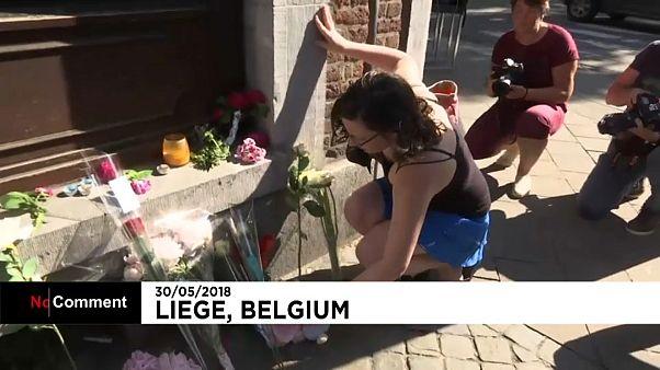 Liege kenti terör kurbanlarına ağlıyor