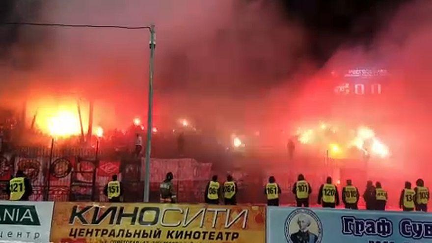 Jaj lesz az orosz futballhuligánoknak