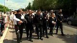 Getötetes kurdisches Flüchtlingskind in Belgien beigesetzt