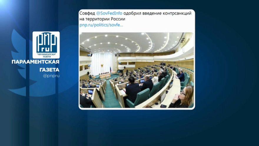 Risposta russa agli USA, approvati contro-dazi su prodotti non vitali