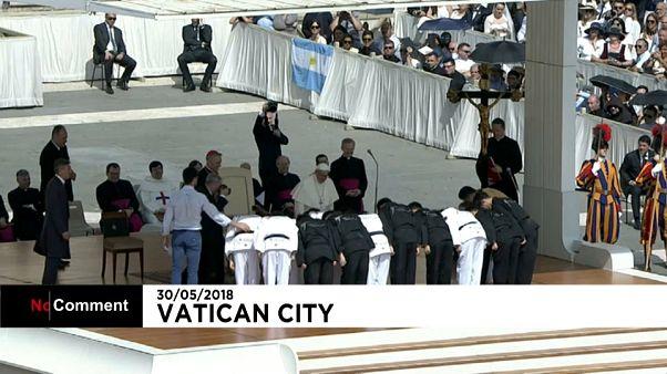 Le pape unit les Corées autour du Taekwondo