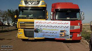 اعتصاب کامیونداران؛ دبیر جنبش عدالتخواه دانشجویی در پایانه بار تهران دستگیر شد