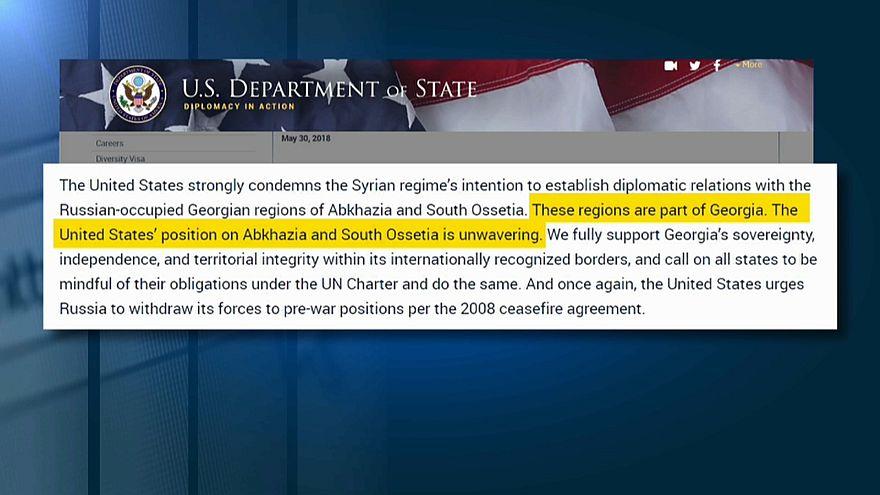 Госдепартамент США: Абхазия и Южная Осетия являются частью Грузии