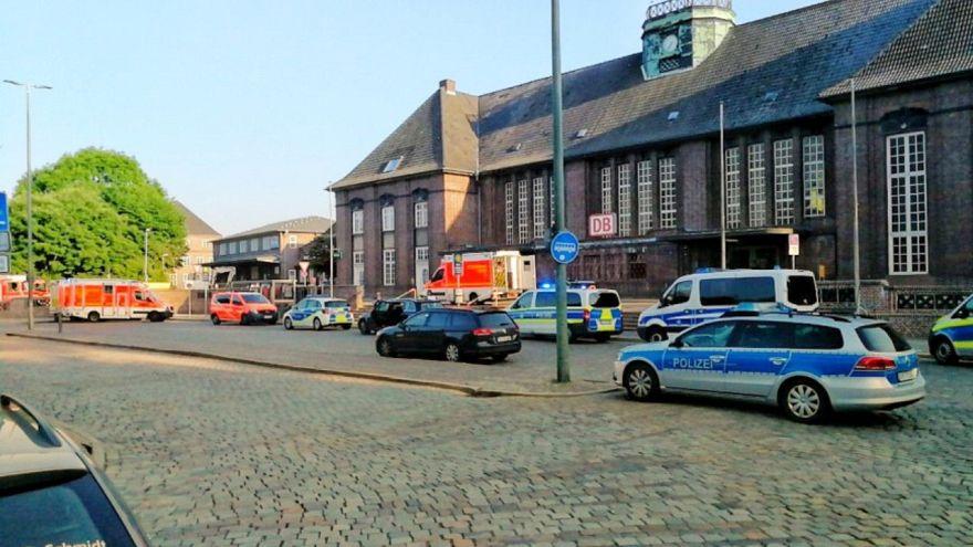 Késes támadás egy német vonaton