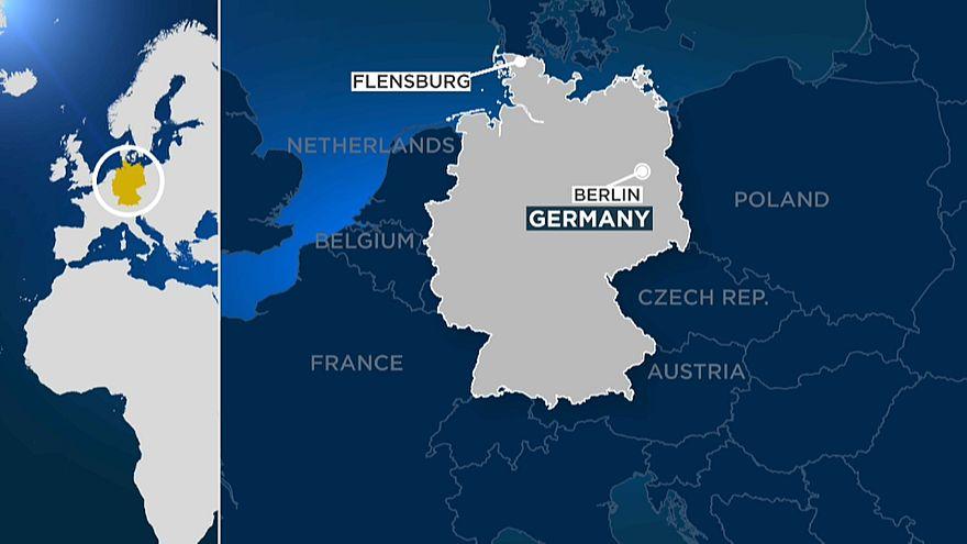 Ataque à faca faz dois feridos em Flensburg