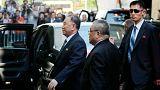 ورود ژنرال کیم یونگ چول، مشاور ارشد و دست راست کیم جونگ اون به نیویورک