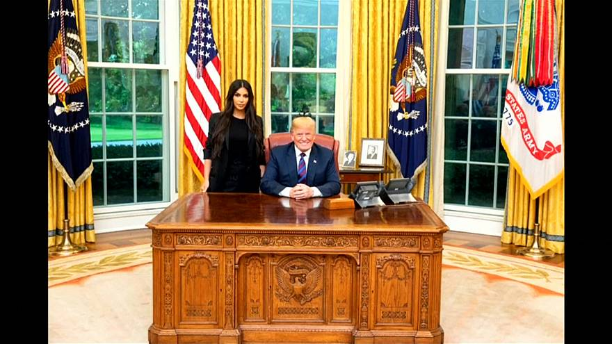 Ким в гостях у Трампа