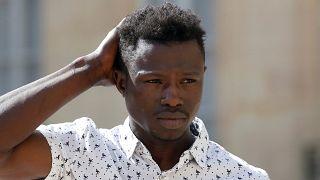 """Mamoudou Gassama : """"Je suis très content"""""""