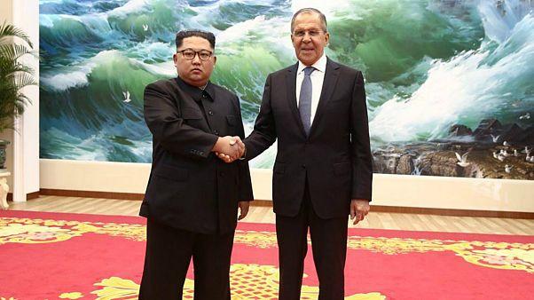 لاوروف در پیونگیانگ با کیم جونگ اون دیدار کرد