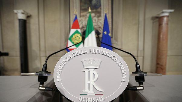"""Italie : """"Les conditions réunies"""" pour un gouvernement d'union"""
