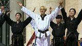 Taekwondo im Vatikan