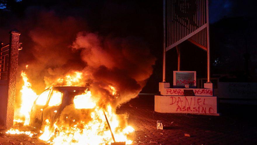 Miedo y violencia en Nicaragua tras un ataque contra una marcha multitudinaria