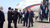 Le chef de la diplomatie russe en visite à Pyongyang