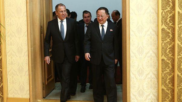 Rusya Dışişleri Bakanı Kuzey Kore'de