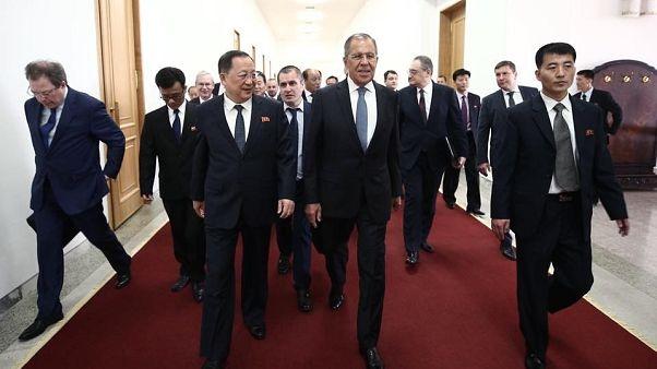 Lavrov visita Pyongyang para impulsar la cumbre con Trump
