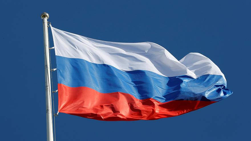 The state flag of Russia