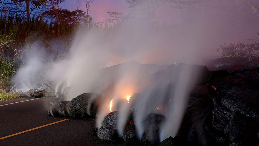 Nuevas evacuaciones por el avance de la lava del volcán Kilauea