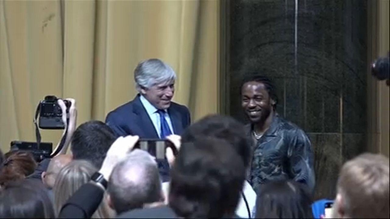 Kendrick Lamar Pulitzer-díjas